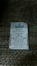 Walt Disney Kali River Rapids  Fastpass Year Of A Million Dreams 2008 Fast Pass