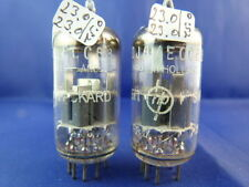 Matched Pair ECC88 Amperex  # NOS # same production codes (8352)
