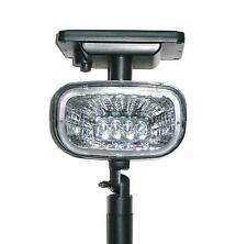 Solar Powered Outdoor Spot Light; Bright LED Lights for Spot Lighting and Signs