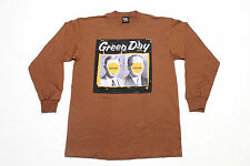 L * NOS vtg 90s 1998 GREEN DAY Nimrod JAPAN / AUSTRALIA longsleeve tour t shirt