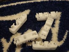 5  GENUINE FORD ESCORT MK3 RS1600i TURBO XR3 FUEL / BRAKE PIPE CLIPS RARE WHITE