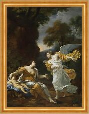 Hagar and the Angel Michel Dorigny San Angelo Vecchio Testamento BABY B a3 02880