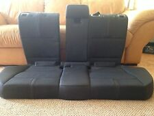 BMW E83 X3 Rear Bench Leather Seat Gray Grey OEM