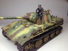 tamiya panther pro built ,photoetch, figure and archer transfers 1/35