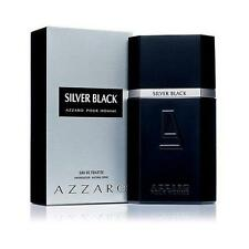 Silver Black by Azzaro 3.4 oz EDT Cologne for Men New In Box