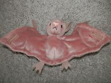 "Ty Beanie original Baby brown bat ""batty"" easter idea gift born oct 29 1996"