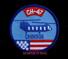 CH-47 CHINOOK PATCH BOEING USA FLAG AVIATION PILOT ARMY AIR CORPS C-130 HERCULES