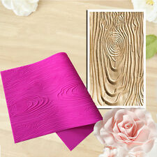 Wooden Bark Embossor Large Lace Mat Fondant Silicone Cake Mould Cupcake Mold