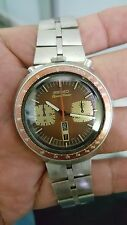 SEIKO 6138-0040 BULL HEAD SPEED TIMER VINTAGE AUTOMATIC CHRONOGRAPH