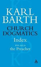 Church Dogmatics Index With AIDS for the Preacher, General, Barth, Karl, Paperba