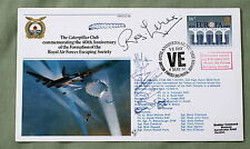 THE CATERPILLAR CLUB RAF ESCAPING SOCIETY 1985 COVER SIGNED BY R W LEWIS DFC