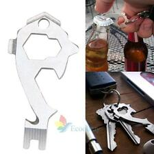 20 In 1 Stainless Screwdriver Wrench Keychain Survival EDC Pocket Multi Tool Kit