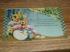 Easter Greeting 1930 Saskatoon Saskatchewan Postcard Sent To Sheho Sask.