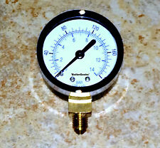 Oil Burner Fuel Pressure Test Gauge for Suntec & Beckett pumps-NO ADAPTER NEEDED