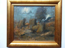 JOHN CUNNINGHAM RGI 1926-1998 ORIGINAL OIL PAINTING 'LANDSCAPE' WITH PROVENANCE