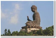 Tian Tan Buddha - Ngong Ping - Hong Kong - NEW World Travel POSTER