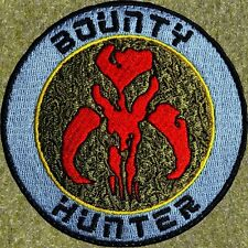 ZOMBIE HUNTER TACTICAL: BOUNTY HUNTER PATCH W/VELCRO ~ BOBA FETT/STAR WARS SKULL