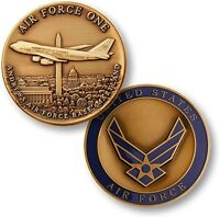 Air Force One Challenge Coin USAF Andrews AFB Base MD DC Presidential Aircraft