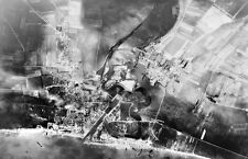 7x5 Gloss Photo ww740 Normandy D-Day Jb Juno Beach Courseulles Vue Aerienne