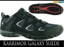MENS KARRIMOR GALAXY SUEDE WALKING/HIKING LACE UP SHOES  -  NAVY  - SIZE UK 10.5