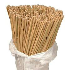 100 x 2ft Heavy Duty Bamboo Garden Canes Strong Thick Quality Plant Support