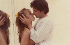 Photo originale Sophie Duez Gérard Lanvin Marche à l'ombre sexy baiser