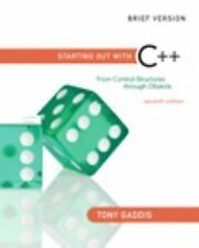 FAST SHIP - TONY GADDIS 7e Starting Out with C++: From Control Structures th Z68