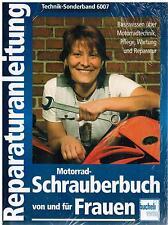 Libro Manual de reparación Motocicleta Schrauberbuch y para Banda Mujeres 6007