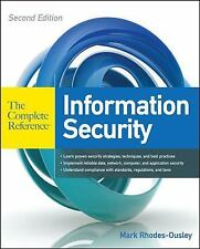 The Complete Reference: Information Security by Mark Rhodes-Ousley (2013,...