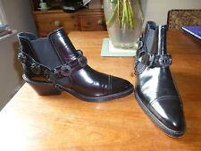 The kooples noir cheville bottes, 40, 7,