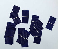 100pcs Solar Panel 52*26mm 0.25W Polycrystalline Silicon DIY Solar Cells Panel