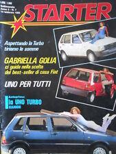 STARTER n°7 1985 Ida Di Benedetto Gabriella Golia    [P30]