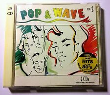 VERY RARE - 80s POP & WAVE VOL.2 EURO DISCO HITS 2 CD (GERMANY) SONY 1992