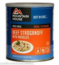 1  Can - Beef Stroganoff - Mountain House Freeze Dried Emergency Food Supply