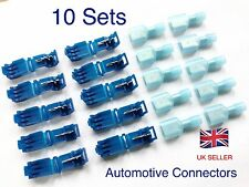 10 sets Quick Splice Lock Wire Terminals Connectors Electrical Crimp Automotive