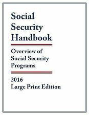 Social Security Handbook 2016 : Overview of Social Security Programs by...