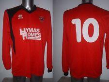 AFC Mansfield Player Matchworn Shirt XL Jersey Football Soccer Errea Top 10 L/S