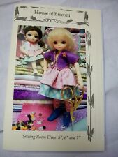 "BJD Pattern Sewing Room Elves 5"" to 7"" Doll"