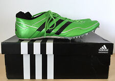 ADIDAS Sprint Star 2 M Mens Neon Green Track and Field Athletic Shoes Size 12