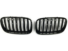 BMW E70 X5 E71 X6 Kidney Grill Grille Grills Gloss Black 2007 ON