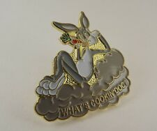 """WHAT'S COOKING DOC"" BUGS BUNNY LAPEL / HAT PIN BRAND NEW ENAMELED"