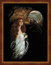 Midnight (Gothic Scene) Cross Stitch Kit - Riolis - (R1032) - 35cm x 45cm