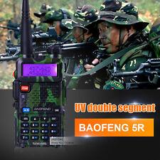 BaoFeng UV-5R 136-174/400-520MHz Dual-Band DTMF  FM ham 2 way radio Camouflage