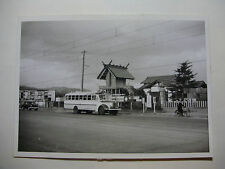 JAP410 - 1957 GREYHOUND BUS Co - HIROSHIMA - BUS PHOTO Japan