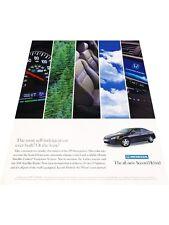 2005 Honda Accord Hybrid Electric - Vintage Advertisement Car Print Ad J413