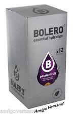 Bolero Drinks mit Stevia - Passionsfrucht - 12 Beutel für 18 Liter