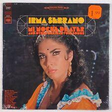 IRMA SERRANO: Mi Noche De Ayer SEALED Columbia StereoES 1911 Rare Latin LP