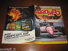 RIVISTA ROMBO 1987/21=MICHELE ALBORETO FERRARI=M. CONTINI=VESPA 50 PLURIMATIC=