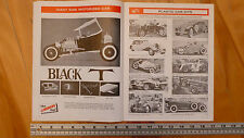 LINDBERG  MODEL KITS 1969 1970 OLD BROCHURE CATALOG CATALOGUE VINTAGE ORIGINAL