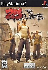25 to Life **NEW** (Sony Playstation 2 PS2) Video Game
